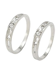 Fashion Couple Rings Random Color