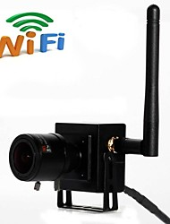 WIFI Mini IP Camera ONVIF Smallest Wireless  Wifi Ip Camera 2.8-12mm Manual Varifocal Zoom Lens 1080P 2.0MP HD Hidden