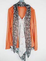 PEARL Women's Casual Shawl Long Sleeve Casual Shirts (Cotton)