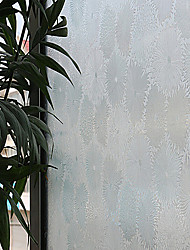 Luxurious Country Blooms Window Film - 0.5 × 5 m (1.64 × 16.4 ft)