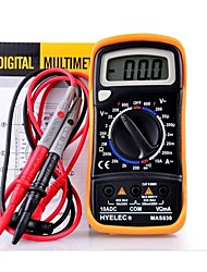 HYELEC MAS830 Professional Multifunction Mini Digital Multimeter/Buzzer Multimetro LCR Meter Ammeter Multitester
