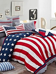 FADFAY®New 2014,Modern Designer Bedding Set American Flag Bedding Set, Kids Cool Bedding Set Grils Duvet Covers Queen