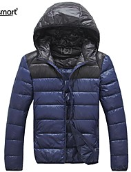 Lesmart® Men's Lightweight Down Garment Male Big Yards Short Fashion Splicing