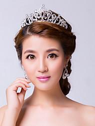 Mujer Diamantes Sintéticos Aleación Celada-Boda Ocasión especial Tiaras