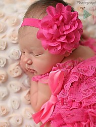10PCS Baby Girl Flower Headband Toddler Elastic hairband Infant Headwear Kids Hair Accessories