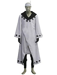 Inspired by Naruto Madara Uchiha Anime Cosplay Costumes Cosplay Suits Patchwork Gray Long Sleeve Coat / Pants / Headband / Gloves / Apron