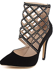 Lolid Women's All Matching Pointed Toe High Heel Shoes