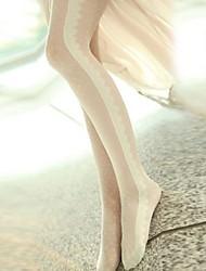 la mode féminine tout en dentelle match velours collants