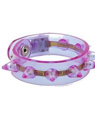 conduit clignotant bracelet partie conception en plastique conduit bâton de lumière (x1pcs de couleur aléatoire)
