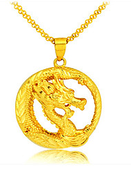 Coky Cassic  Gold Plated 24K Gold Pendant  Jewelry