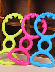 Ringside Shaped Rubber Chew Toys for Pet Dogs(Random Colour)