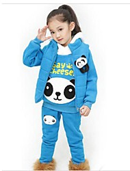 Girl's Clothing Set Cotton / Polyester Winter