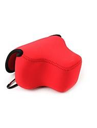 neoprene dengpin® câmara de transporte flexível bolsa saco caso protetor para Canon PowerShot SX60 HS (cores sortidas)
