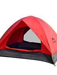ROCVAN 3 Season A066 2 Person Double Layer Fiberglass Pole Camping Tent