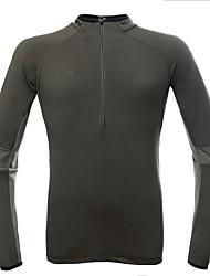 Men's Breathable Outdoor Thermal Long Sleeve Hiking Fleece