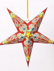 Christmas Tree Decoration Nepal Colour Pentagram Ceiling Pendant Lamp Shade