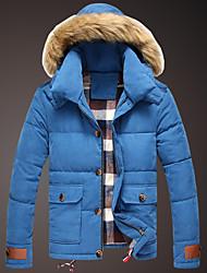 novo casaco de algodão do inverno da queda dos homens riqi s919