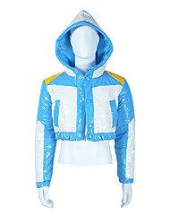 Inspired by Dramatical Murder Aoba Segaraki Video Game Cosplay Costumes Cosplay Tops/Bottoms Patchwork Blue Coat
