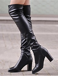Women's Shoes Fashion Boots Chunky Heel Over The Knee Boots
