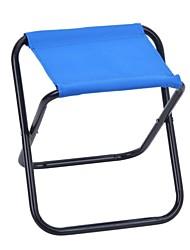 Outdoor Portable Folding Camping Fishing Aluminum + Nylon Chair - Random Color