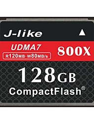 J-Like® CompactFlash Card  128GB Memory Card 800X