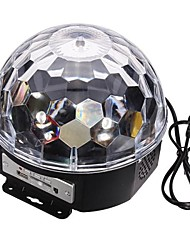LT-906876 Digital RGB Color LED Crystal Magic Ball Laser Projector(240V.1XLaser Projector)