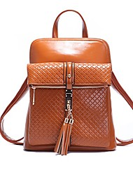 Galiot neue koreanische Retro College-Stil Frauen Fransen Rucksack / Schulter / Handtaschen b221435 khaki
