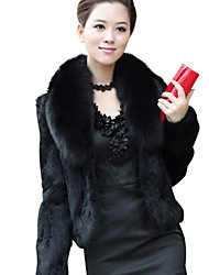 Women's Coats & Jackets , Polyester Casual Hansifei