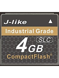 J-Like® CompactFlash Card Industrial Grade 4GB Memory Card SLC Chip