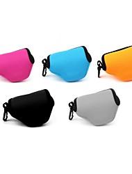 Pajiatu® Neoprene Soft Camera Inner Triangle Case Bag Pouch for Nikon J4 J3 J2 J1 with 10-30mm Lens(Assorted Colors)