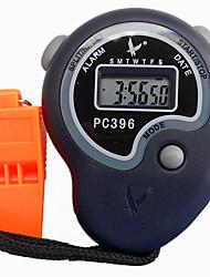 2 1 / 100s souvenirs seule ligne de temps de 24 heures à 6 chiffres&calendrier pile bouton chronomètre numérique pour saut de sport pc396