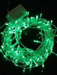Lampe de lumière de bande de lumière verte 10m 9.6W noël éclair 100-conduit (plug UE, 220V)