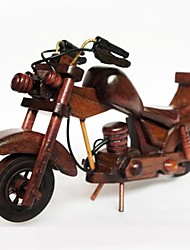Wooden Motorcycle Models  Decoration  Creative Birthday Gift  (Picture Color)