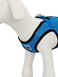 Airmesh arnés transpirable seguridad para mascotas perros (colores variados, de diferentes tamaños)