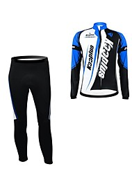 KOOPLUS Bike/Cycling Jersey + Pants/Jersey+Tights / Jersey / Clothing Sets/Suits Women's / Men's / Unisex Long SleeveBreathable /
