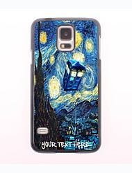 Personalized Phone Case - House and Tree Design Metal Case for Samsung Galaxy S5 mini