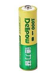 delipow 1.2V 1000mAh AA перезаряжаемые никель-кадмиевые батареи (1шт)