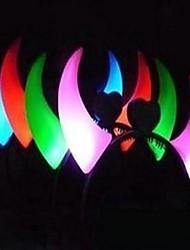 cornes lumineux cerceau (couleurs aléatoires)