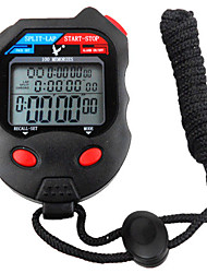 100 mémoires 1 / 100s 3 ligne 10h le compte à rebours feux de calendrier chronomètre numérique pour saut de sport pc100d