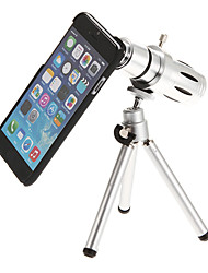 12X Mental Mobile Phone Telephoto Lens for iPhone 6