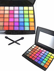 48 Color Matte&Shimmer Professional Eye Shadow Makeup Cosmetic Palette with Mirror&Applicator Set 4#