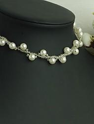 Z&X®  Elegant Hand Made Imitation Pearl Strands Necklace