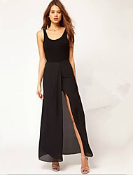 European Style Fashion Slim Long Dress