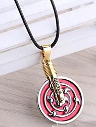 Naruto Obito Uchiha zehn Schwanz Symbol Legierungsanhänger Cosplay Halskette