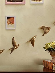 Metal Wall Art Wall Decor, The Dove Flying Wall Decor Set of 5