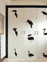 Wall Stickers Wall Decals, Home Decoration Birds Poster PVC Wall Stickers