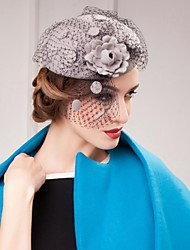 New Style Wool Wedding/Parting/Gauze Hat With Fascinators  (More Colors)