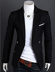 tasche slim fit vestito giacca sportiva degli uomini shyess