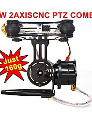 NEW FPV Hero 3 Camera Gimbal Mount PTZ For DJI Phantom X525 F450 F550 S with Motors & Gimbal Controller Just 160g