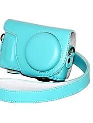 pajiatu® Мода PU кожа камера защитный чехол с плечевым ремнем для Samsung NX мини NXF1 9 мм объективом
